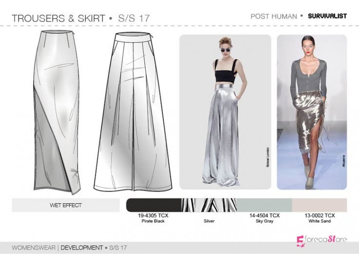 See the new forecasting fashion trends about Survivalist SS17   Development   Womenswear, Fashion & Product development ai CAD with 5forecastore.