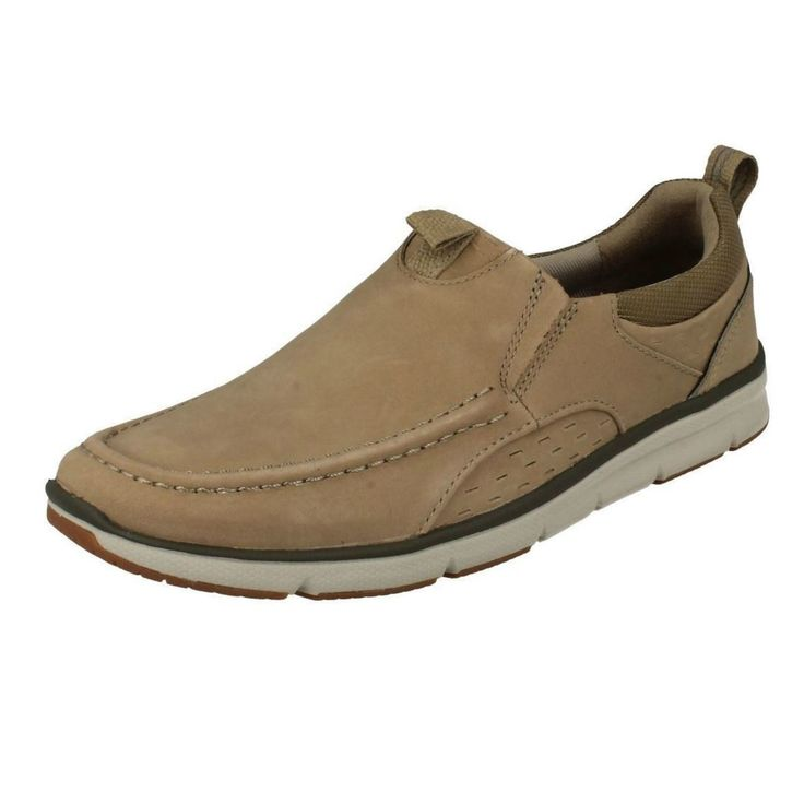 United Footwear - Men's Clarks Slip On Casual Trainers Orson Row, �74.99 (http://united-footwear.co.uk/mens-clarks-slip-on-casual-trainers-orson-row/)