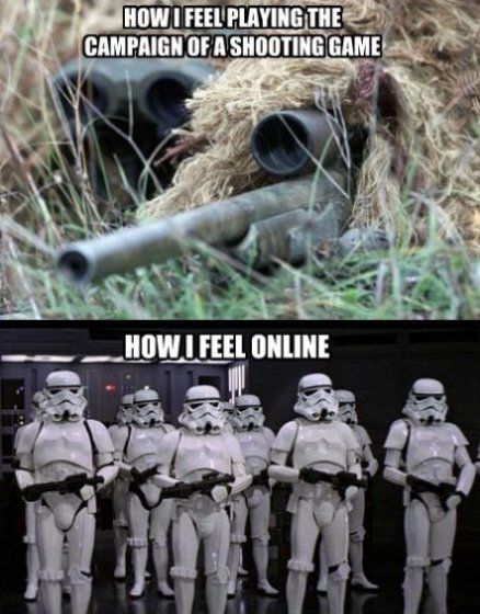 Online gaming true dat haha, I'm not that bad lol but I ain't good either :)