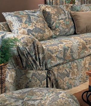 Sectional Sofa camo slipcovers for sofa Advantage Camo Couch Covers