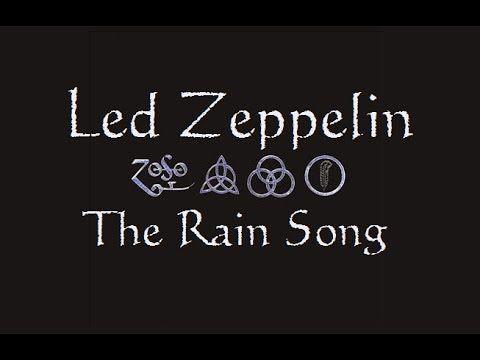 Led Zeppelin - The Rain Song Lyrics