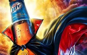 It's Miller timeMiller Time, Beer Advertis, Alcohol Beverages, Drinks Time, Miller Lite, Creative Beer, Halloween Ads, Beer Ads, Favorite Drinks