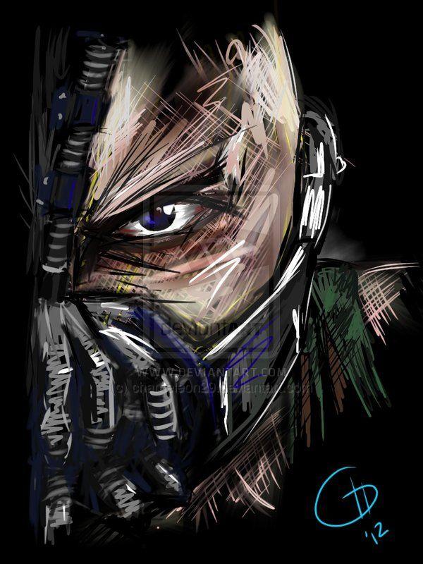 Bane - Print by chameleon29.deviantart.com