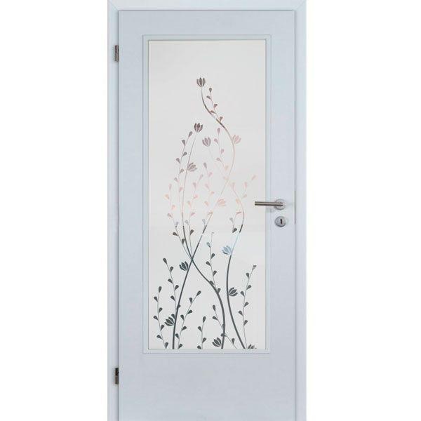 Vinilo Al ácido Puerta Floral Vinilos Para Puertas Puertas De Vidrio Ventanas De Vidrio