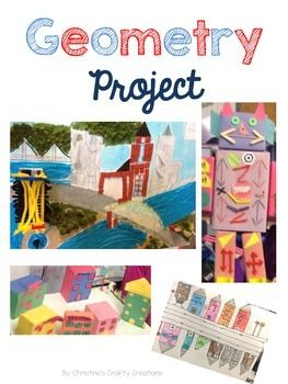 This Geometry project is great for  group projects or an at home project.  A…