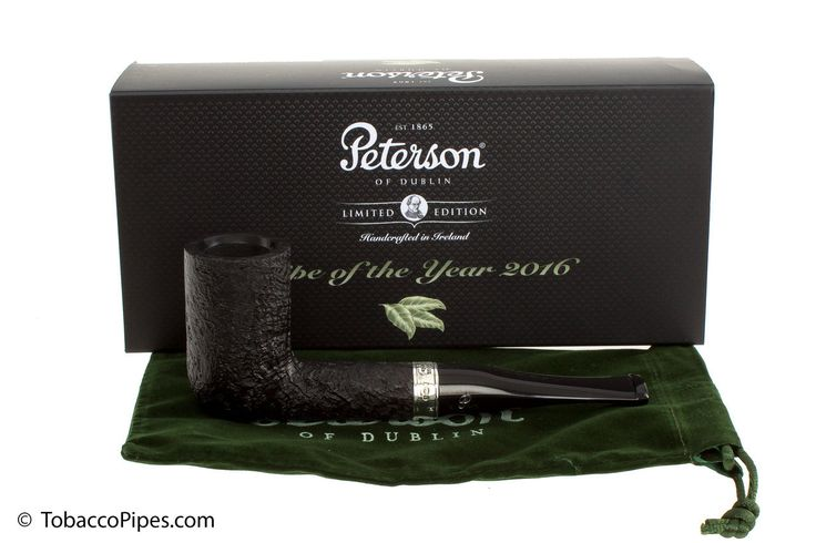 TobaccoPipes.com - Peterson Pipe of the Year 2016 Tobacco Pipe - Sandblast, $200.00 (http://www.tobaccopipes.com/peterson-pipe-of-the-year-2016-tobacco-pipe-sandblast/)