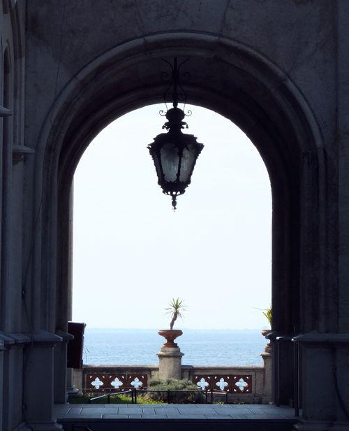 Castle of Miramare in Trieste, Italy.