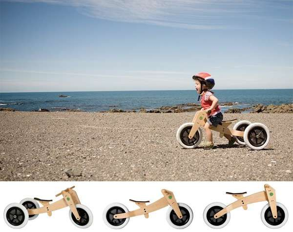 The 3-in-1 'Wishbone Bike' is a Starter Cycle for Children #topbabytrends #trendykids trendhunter.com