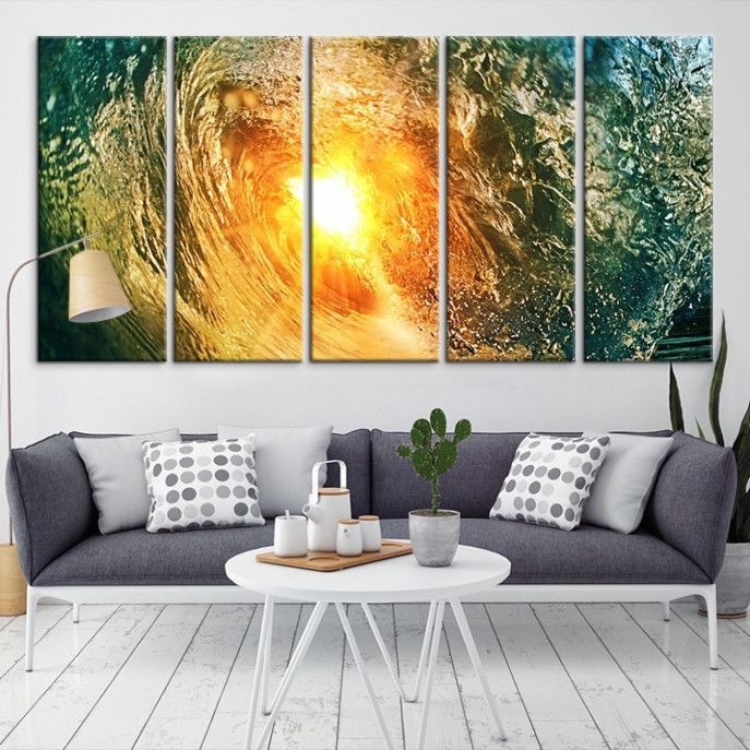 80493 - Sea and Beach Wall Art Large Canvas Print