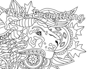 373 best swear coloring pages images on Pinterest | Coloring books ...