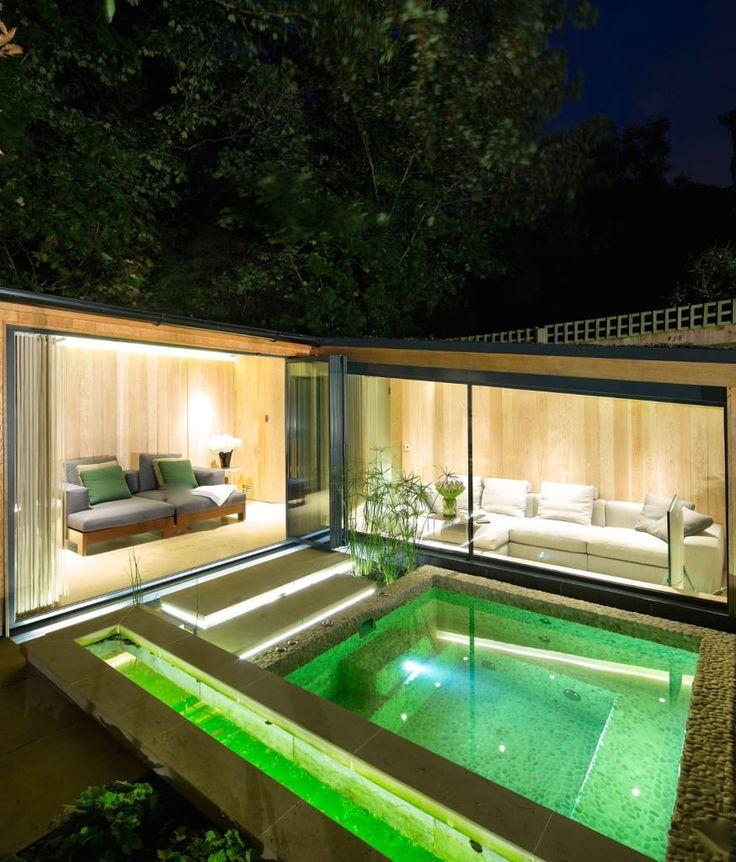 18 tolle ideen und inspirationen für einen pool im haus   menerima, Garten und Bauten