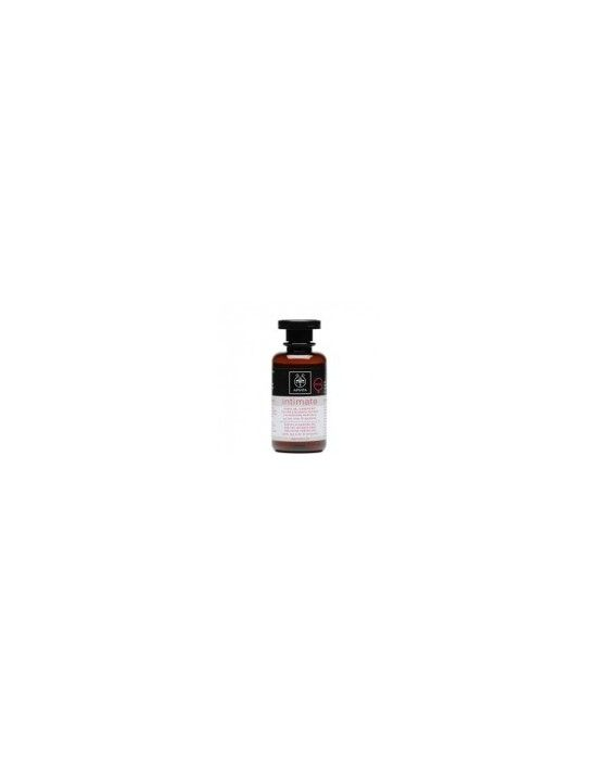 APIVITA GENTLE CLEANSING GEL FOR INTIMATE AREA PLUS 200ML Απαλό gel καθαρισμού για την ευαίσθητη περιοχή για επιπλέον προστασία Ενδείκνυται για γυναίκες που ταλαιπωρούνται συχνά από ενοχλήσεις ή το καλοκαίρι που οι συνθήκες ευνοούν την ανάπτυξη μικροοργανισμών και έτσι συμβάλλει στην πρόληψη των μιρκοενοχλήσεων Εμπλουτισμένο με γαλακτικό οξύ και φυσικό ολιγοσακχαρίτη βοηθά στην προστασία της φυσιολογικής χλωρίδας της περιοχής και σέβεται το pH της Χαρίζει αίσθηση φρεσκάδας και άνεσης