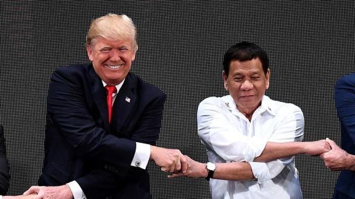 "Donald TrumpDonald Trump Reveals He Has A ""Great Relationship"" with Rodrigo Duterte Reveals He Has A ""Great Relationship"" with Rodrigo Duterte"