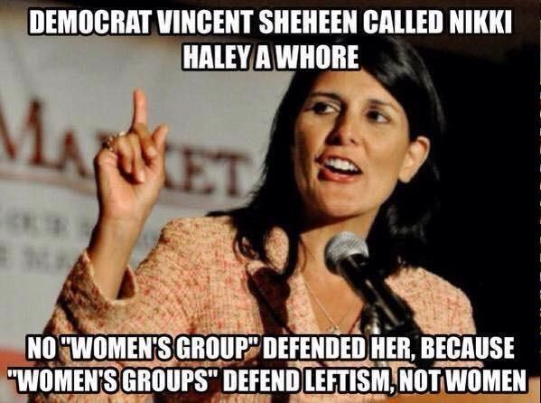SC Democrat Vincent Sheheen Calls Governor Nikki Haley A 'Whore' - Media silent while the Democrats carry on with the war on women.....