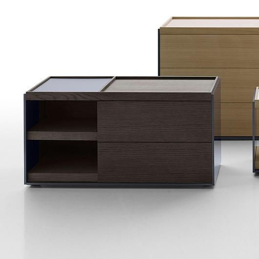 - 185a0449e4bda784aec7227128da380b - Surface – Sideboards from B&B Italia. The new surface drawer units which take all the combinations of materials and fini…