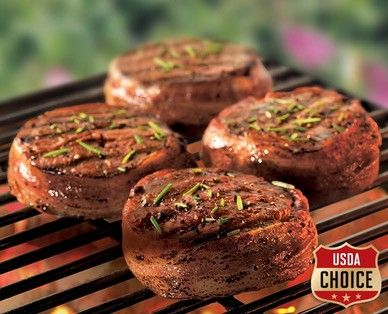A blog post suggests salt, pepper, and olive oil for seasoning. ALDI US - Cattleman's Ranch USDA Choice Bacon Wrapped Beef Chuck Tender Filet