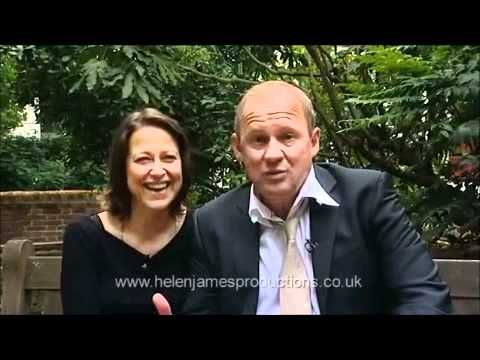 Lovely (and sad) interview with Nicola Walker (Ruth) and Peter Firth (Harry) from Spooks
