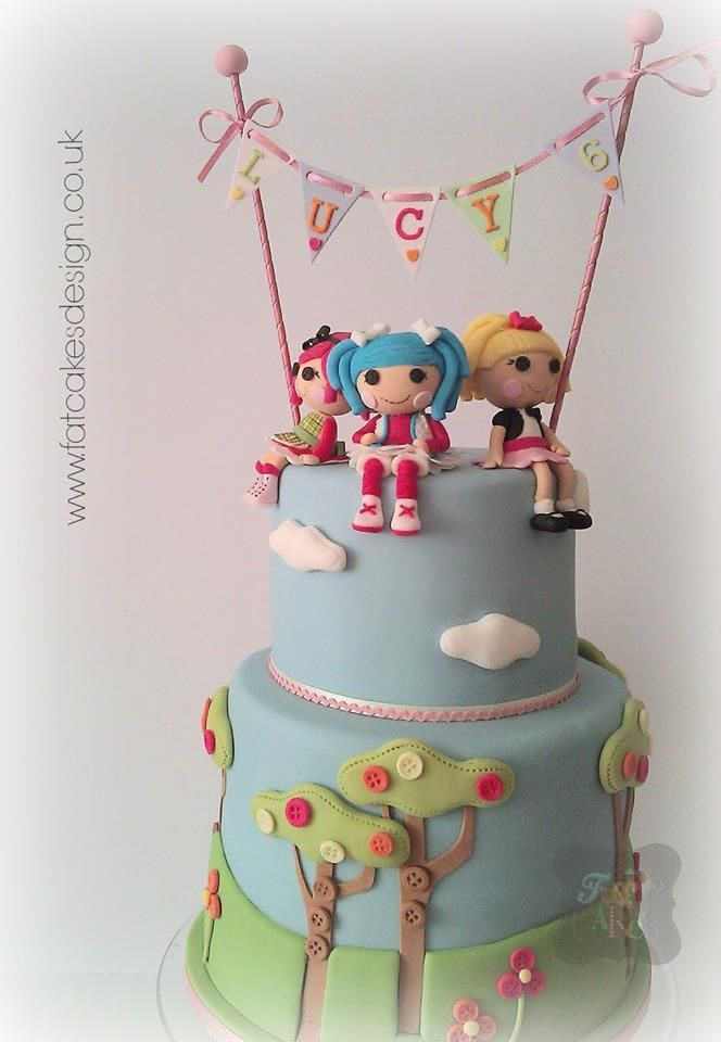 How To Make Lalaloopsy Doll Cake