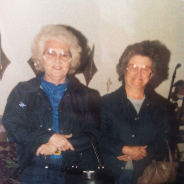 Mom and Jo Biggs