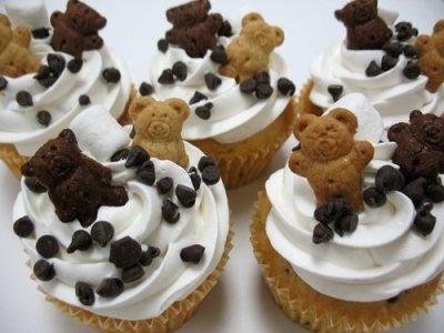 Teddy Gram Cupcakes