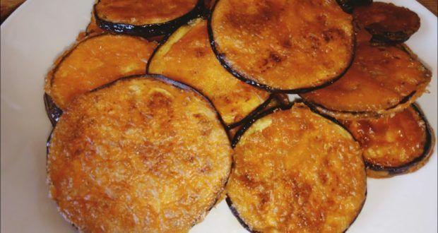 بادنجان مقلي بخلطة رهيبة مقرمش ولذيذ وبكمية قليلة من الزيت Food Breakfast Vegetables
