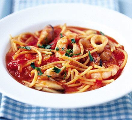 Make a low-fat, satisfying dish in minutes - ideal for Friday nights
