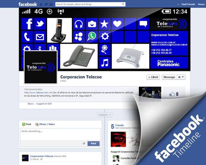 Facebook Timeline for Corporacion Telecoe de Venezuela