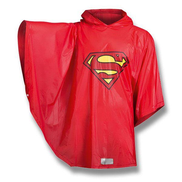 Pláštěnka pončo Superman, vhodné i pro dospělé/ Raincoat (Poncho) Superman / http://activacek.cz/produkt/plastenka-ponco-supergirl-6066/