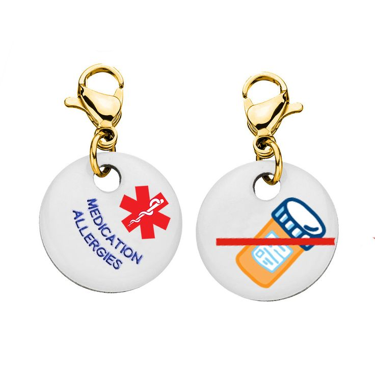 [[description]] [[start tab]] About In an emergency medical situation when every second matters, this bracelet charm can help save your life. Emergency responders, doctors and nurses will notice your