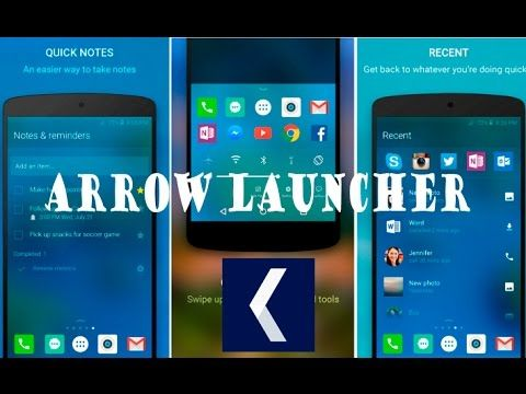 Arrow Launcher – para Android