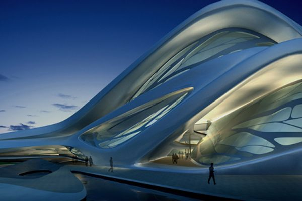 Zaha Performing Arts Centre for Abu Dhabi @ evolo