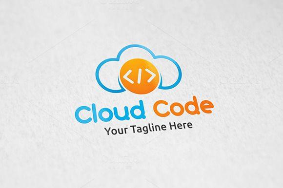 #Cloud #Code - #logo #Template #logotype #design #technology #data by Martin-Jamez on @creativemarket
