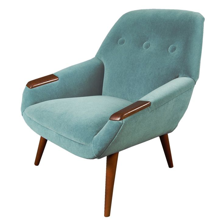 Mid Century Modern Turquoise Chairs   Bing Images
