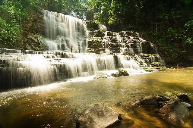 Filipinas Beauty: Merloquet Falls; Sibulao, Zamboanga City, Philippines