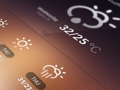 Weather interfaces