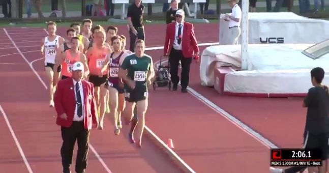 Official Causes Chaos In Men's 1500m Race In The US