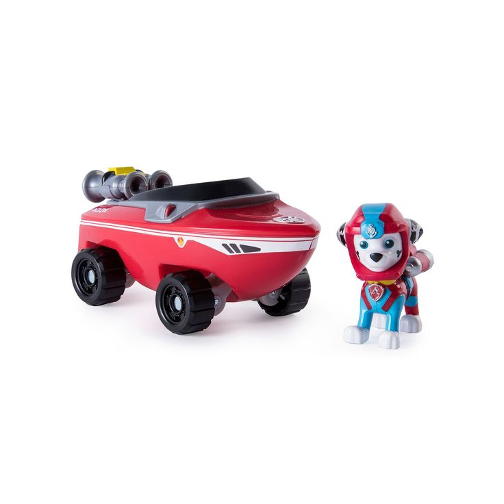 Paw Patrol Marshall Sea Patrol-Themed Vehicle, Multicolor