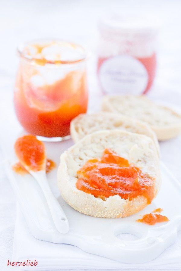 Ein toller Brotaufstrich - Karotten-Honig-Marmelade. Rezept von herzelieb
