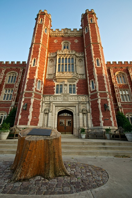 Evans Hall at the University of Oklahoma. I love you, OU