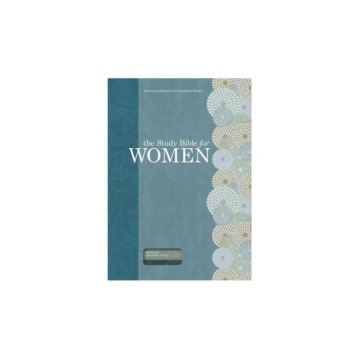 Study Bible for Women : Holman Christian Standard Bible, Personal Size Edition, Teal/Sage Leathertouch