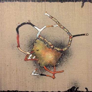 "Saatchi Art Artist Jette Reinert; Painting, ""Loving care"" #art"