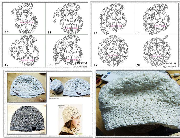 Mejores 31 imágenes de gorro en Pinterest | Sombreros de ganchillo ...