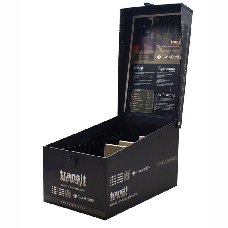 xl size sample display box for ceramic tile samples with. Black Bedroom Furniture Sets. Home Design Ideas