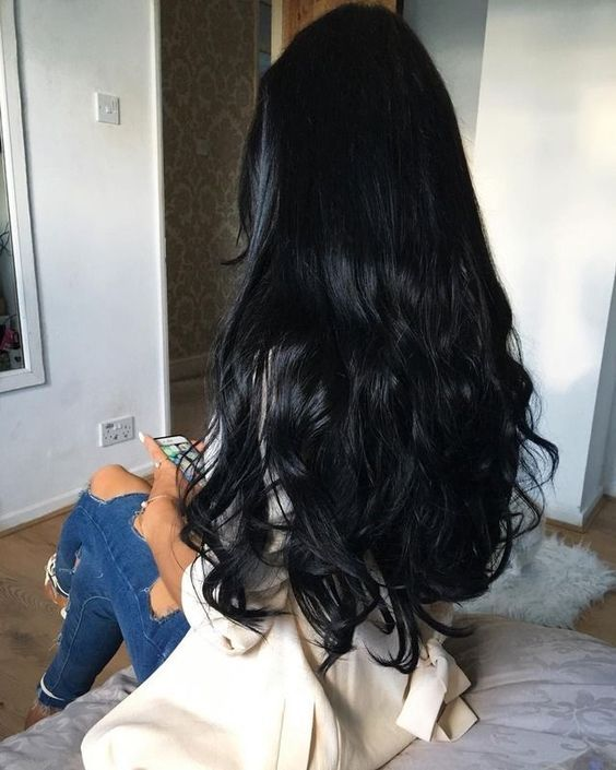 long black hair ideas