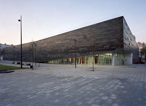 Antony Multisports Complex by Archi5 and Technova Architecture