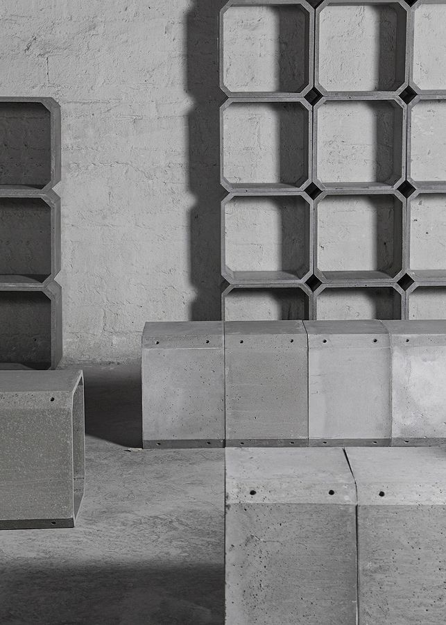 Pure lines and #concrete - Bentu Design's mood - Check it out at 100% Design