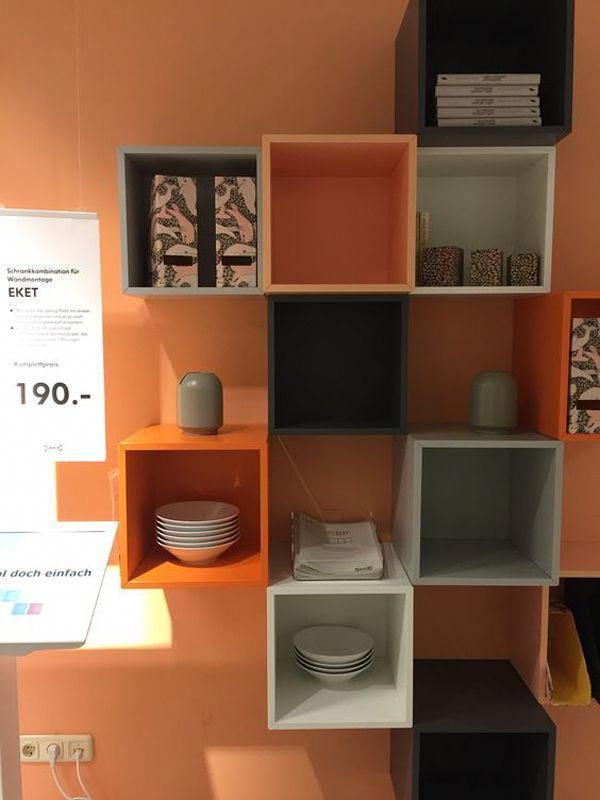 20 Practical Wall Ideas With Ikea Eket Cabinet Home Design And Interior Ikeabedroomideas Wand Ideen Ikea Home Design