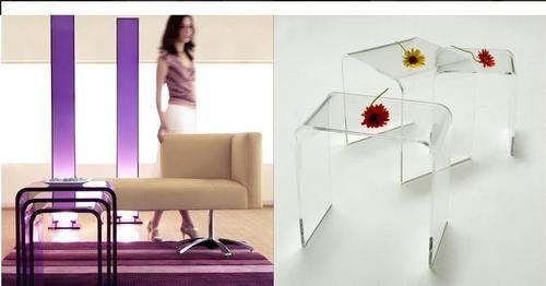 """""""Стоктон""""-мебель из акрила"""