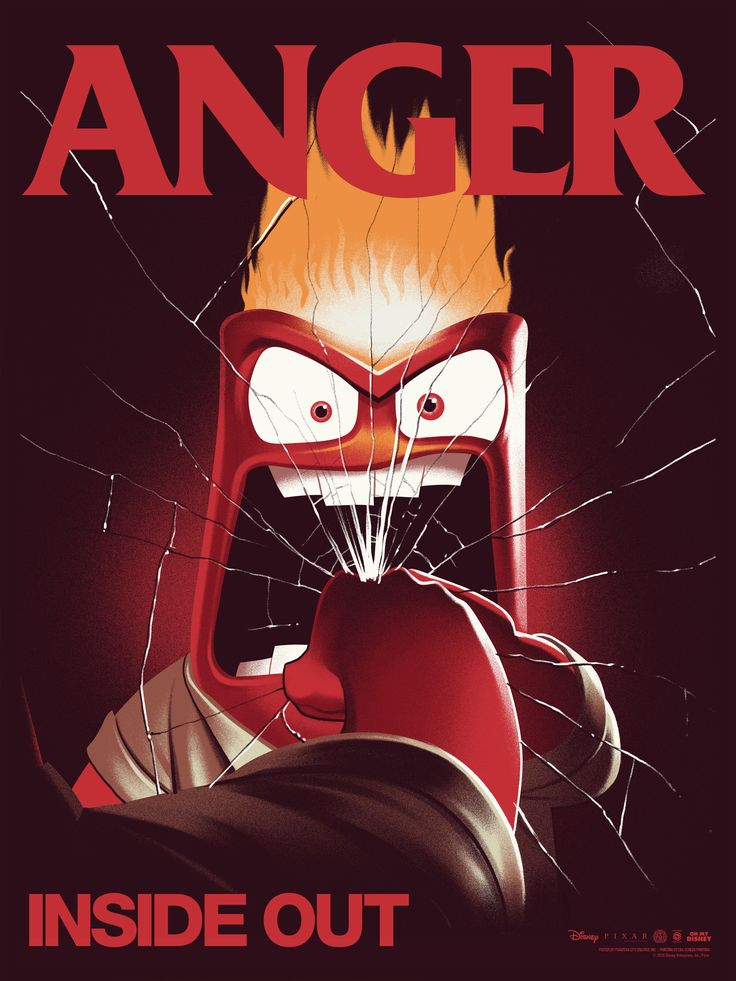 Epic SDCC Inside Out Anger Screen Print Poster Phantom City Creative Mondo for Like the SDCC Inside Out Anger Screen Print Poster Phantom City Creative