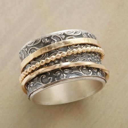 nice Modern Renaissance Spinner Ring by post_link